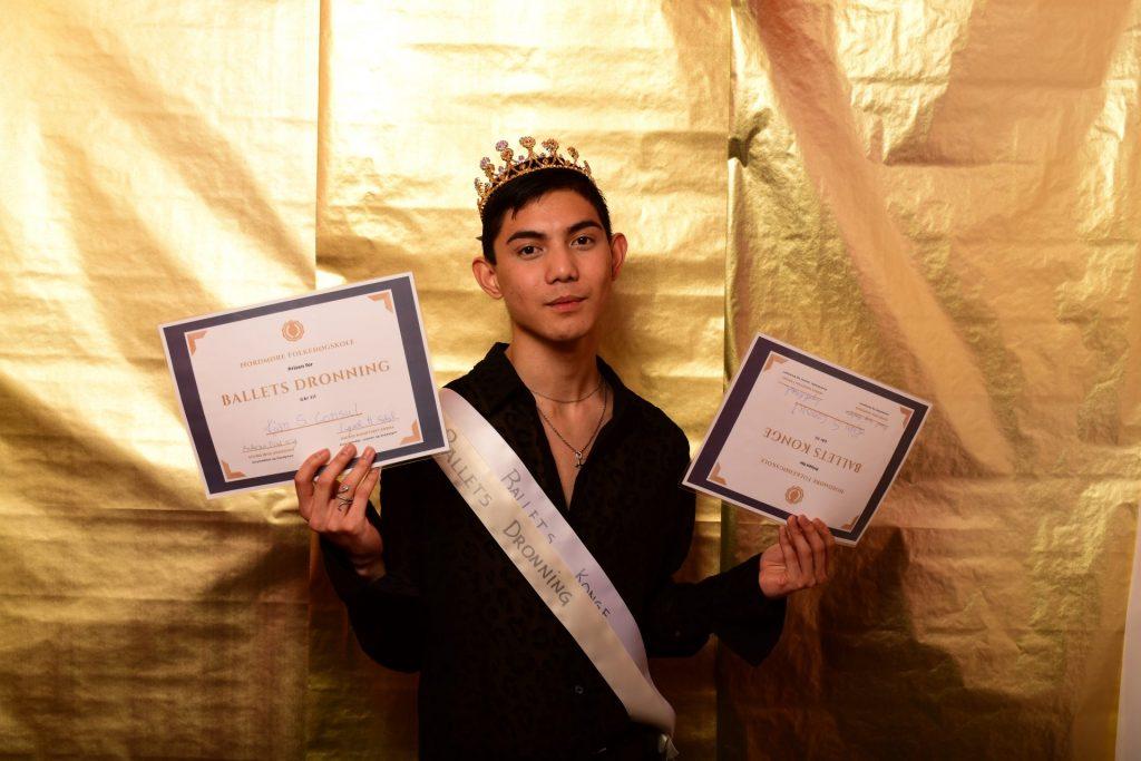 Ballets konge og dronning (Kian Shane Consul)